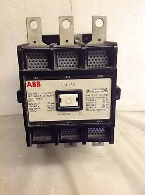 ABB Contactor Type EH160 110v AC - 50hz