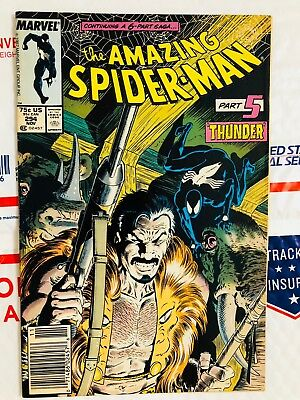 Amazing Spiderman 294! Death of Kraven the Hunter! Look at all my .99 books!
