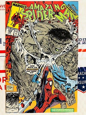 Amazing Spiderman 328! Spidey vs Hulk! McFarlane! Look at all my .99 books!