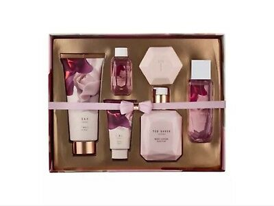 Ted Baker Bathed In Roses Luxury Gift Set Toiletries Brand New  FREE DELIVERY
