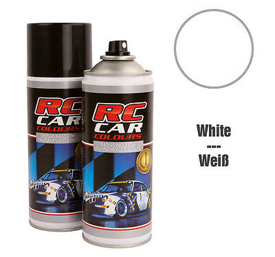 RC Car Colours #RCC710 Lexan Spray Weiß 150 ml GNP: 3,93€/100ml