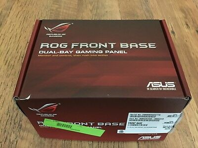 Asus ROG Front Base Dual-Bay Gaming Panel Lüftersteuerung
