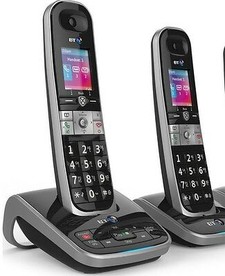 NEW TELSTRA Call Guardian 301 MK2 Qaltel CORDLESS PHONES ANS/MACHINE 2 HANDSET