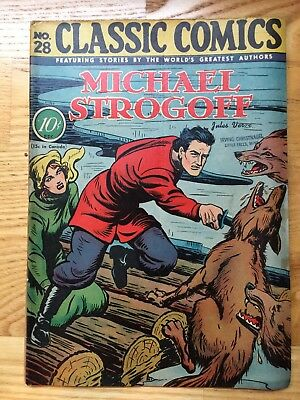 Classics Illustrated #28 - Michael Strogoff 1st edition