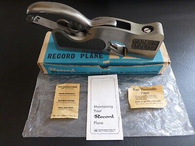 Record 073 Rebate Plane with box MINT