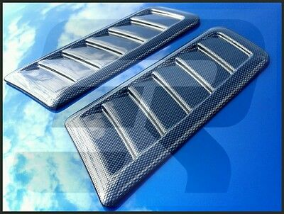 Focus RS ST Style Decorative Bonnet vent *No Cutting Required* Carbon Effect