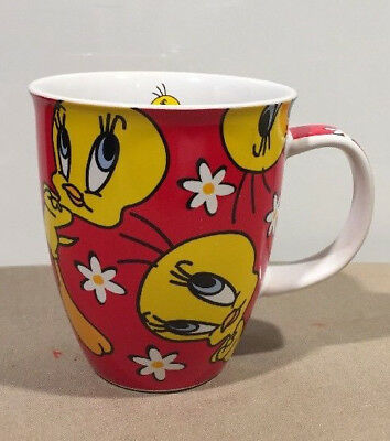 Tweety Bird Coffee Mug Cup, Warner Brothers Studio Store 2000 Exclusive Design