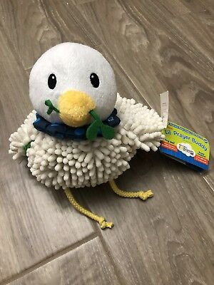 Religious Dove Lil' Prayer Buddy Peaceful Heart Prayer TALKING PLUSH