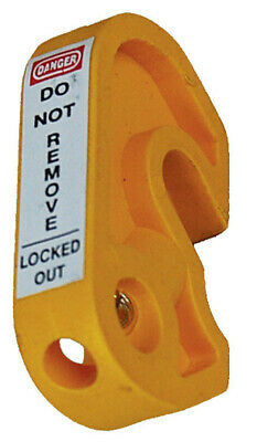 Extreme Safety  Circuit Breaker Lockout Mini Yellow | ULO-1-MCB