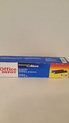 Office Depot Replacement Fax Ribbons For Use With Panasonic KX-FP 80, 81, 85