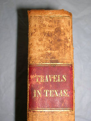 Travels in Texas: 1844 1st ed The Cabin Book; The Prairie Flower; 3 more slavery