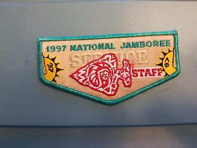 BSA 1997 National Jamboree Order of the Arrow Service Staff Pocket Flap