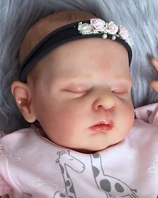 Reborn Baby Girl Zoey~By Cassie Brace~Ltd. Ed. 217/500