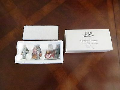 Department Dept 56 Holiday Travelers Set of 3 Characters  #5571-9 MIB a