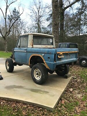 1974 Ford Bronco Half cab Ford Bronco 1974 Project Clear Title