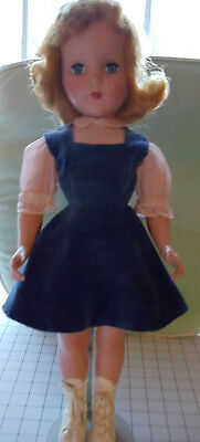 """Vintage R & B (Arranbee)  21"""" Doll  Hard-to-Find  ICE SKATER  Very Nice  1950's"""