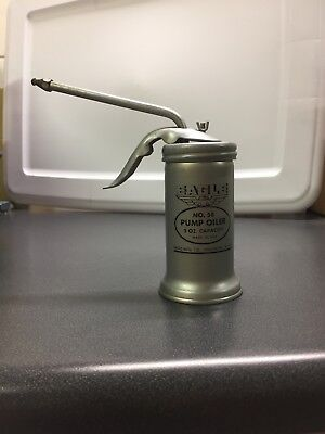 Vintage Eagle No. 58 Pump Oiler 5oz capacity - Made in the USA