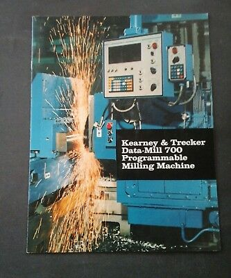 Kearney & Trecker Brochure, milling machine, Machinists tool
