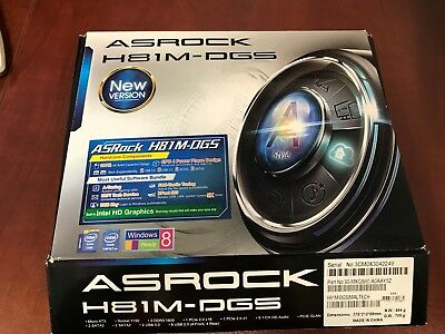 Asrock H81M-DGS Mother Board bundle, Processor and CPU GA-78LMT-S2P