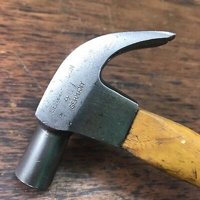Fantastic Vintage Becon 467 8Oz Claw Hammer Made In Germany Old Tools
