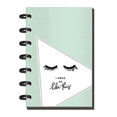 Create365 The Happy Planner Mini Soft Geos, Eyelashes, Dated 2018