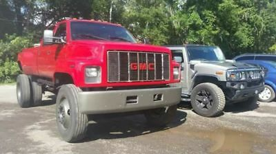 2000 GMC Sierra 3500  GMC 5ton 4 door dually huge truck hualer massive monster truck 3500 topkick NR