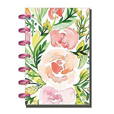 Create365 The Happy Planner Mini, Soft Blooms, Watercolor Flowers, 2018