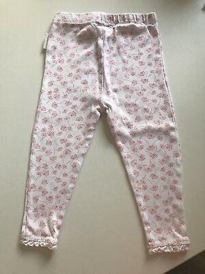 Purebaby Girls Leggings Pants Size 1 (12-18 Months)