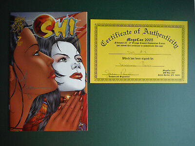 SHI #7 Signed by BILLY TUCCI with COA Crusade Comics NM
