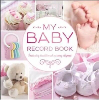 My Baby Girl Record Book! Brand New! Shower Gift Pink