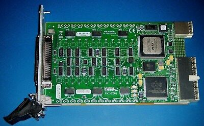 NI PXI-2501 48ch Analog FET Multiplexer/Matrix Switch, National Instruments