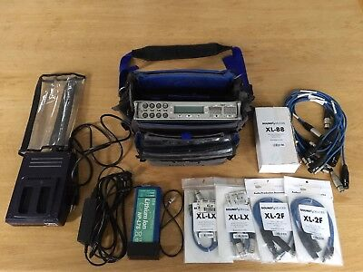 Sound Devices 788T Audio Recorder With Case, Cables, Battery, Power Adapter+MORE