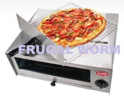 Electric Stainless Steel Kitchen Countertop Pizza Oven - 120V Avantco