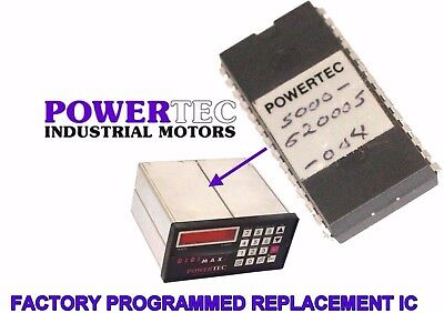 Powertec Digimax EPROM Chip Microchip 7C256 New Factory Programmed 620005 004