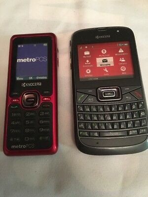 lot of 2 sample Cell phones dummy display fake kyocera
