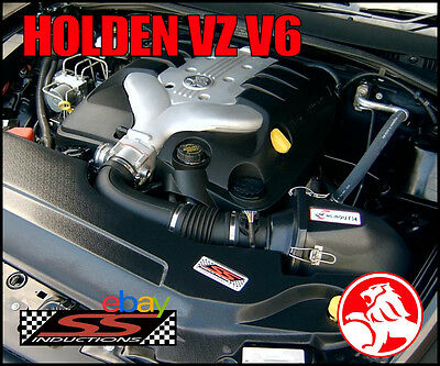 Holden Vz V6 - Ss Inductions Growler Cold Air Induction Kit