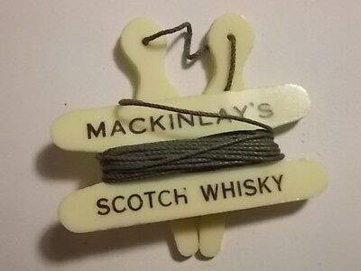 Old Lawn Bowls Measure McKinley Scotch Whisky Advertising. VG