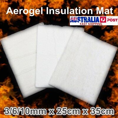 Super Light Silica Aerogel Insulation Hydrophobic Mat Materials 3/6/10mm 25x35cm
