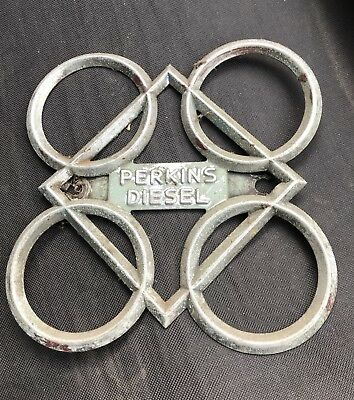Perkins P3 E27N P6 Diesel Front Grill Badge