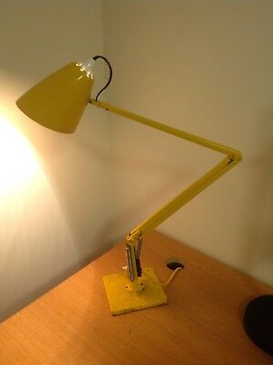 Vintage Retro 1970's Australian Iconic Studio K Yellow Color  Planet Lamp