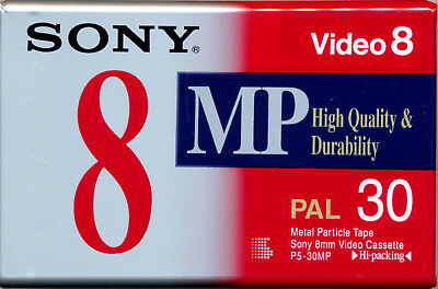 SONY P5-30ME Video 8 Metal Particle Tape 30 minutes