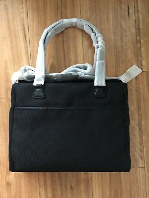 Oroton Diaper Baby Bag Black Signature O - *BRAND NEW with TAGS*