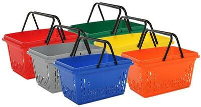 28L Shopping Baskets Various Colours & Qty Retail