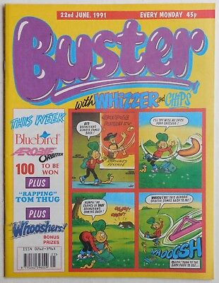 BUSTER COMIC - 22nd June 1991