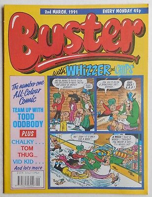 BUSTER COMIC - 2nd March 1991