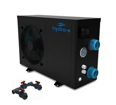 Hydro-S Wärmepumpe Typ 8 mit Bypass-Set Universal POOLHEIZUNG POOL HEIZUNG (ECO)