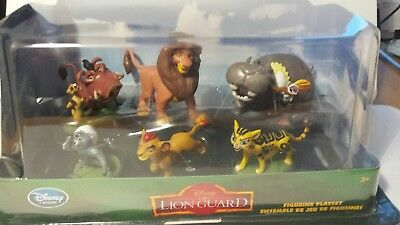 Disney Store Exclusive Figure Playset Lion Guard New king