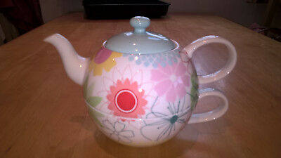 Portmeirion Crazy Daisy Tea for One without Saucer