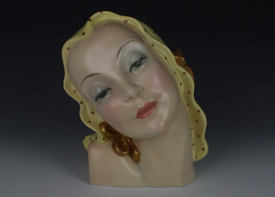 Lenci Bust of a Young Woman.
