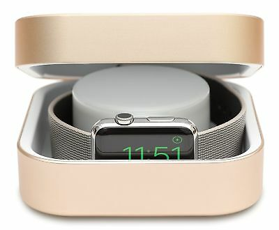 Apple Watch Power Bank 3800 mAh Protective Shockproof Travel Cover Gold New